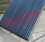 Heat Pipe 30 Tube Solar Collector , Solar Water Heating Collectors For Apartment