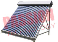 Big Capacity Vacuum Tube Thermal Solar Collector High Density 25 / 50 Tubes