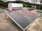 Blue Titanium Collector Flat Plate Solar Water Heater , Solar Powered Pool Heater