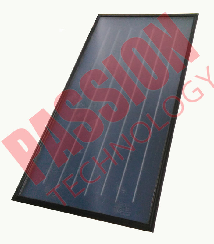 Professional Flat Plate Collector , Flat Plate Solar Hot Water Collector Red Copper