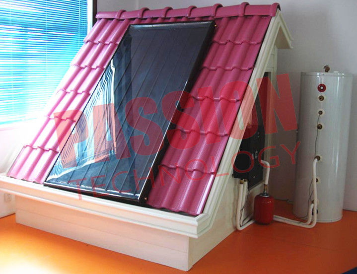 Split Pressurized Solar Water Heater , Thermosyphon Solar Water Heater 150 Liter