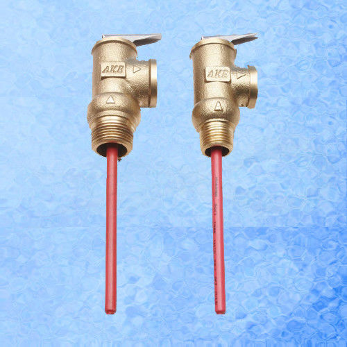 Solar Water Heater Accessories Temperature / Pressure Relief Valve Different Pressure