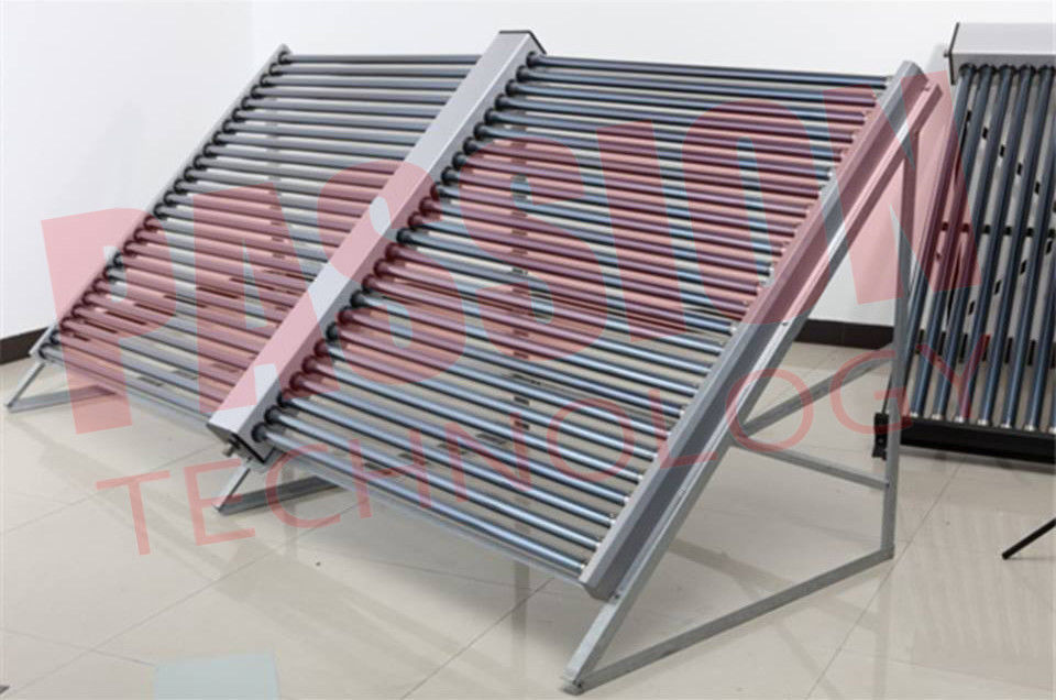 Three Target Vacuum Tube Solar Collector Large Heating Project Hotel Solar Heating System