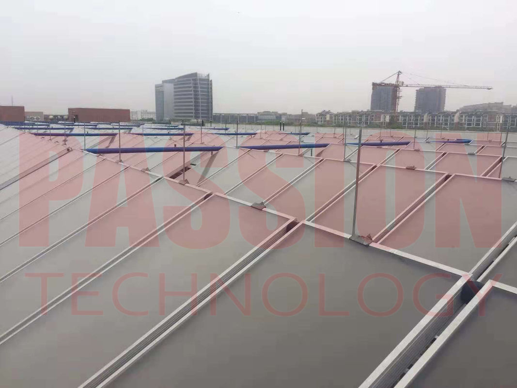 Swimming Pool Solar Heater Laser Welding Flat Plate Collector CE Passed