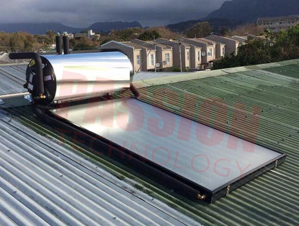 Washing / Sun Energy Solar Geysers , Flat Plate Solar Water Heater For Bathroom Heating