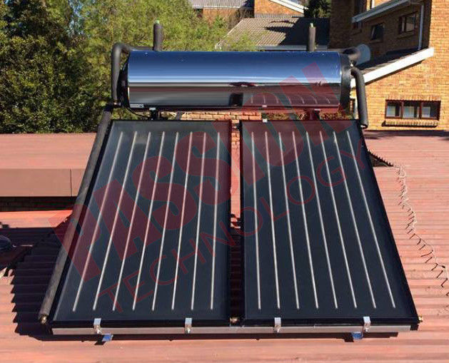Pressurized Flat Plate Solar Heating System , Kitchen Use Flat Plate Solar Water Heater