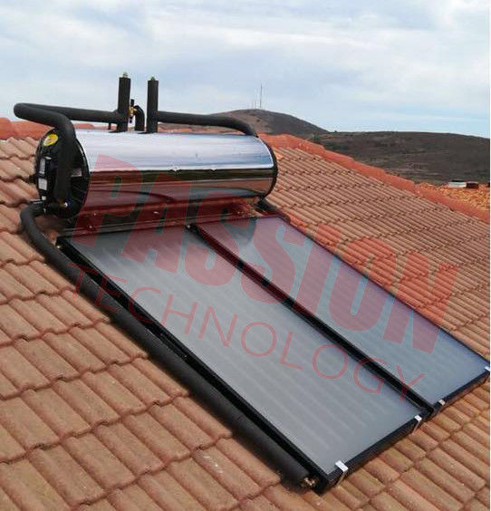 High Performance Flat Plate Solar Water Heater Pitched Flat Solar Collector