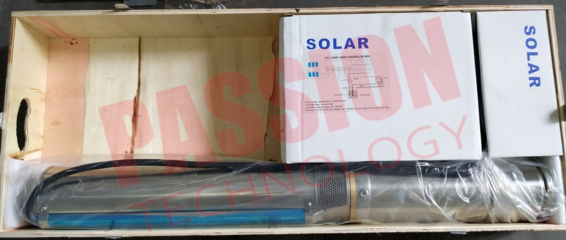 304 Stainless Steel Submersible Solar Pump DC Farm Irrigation Solar Water Pump